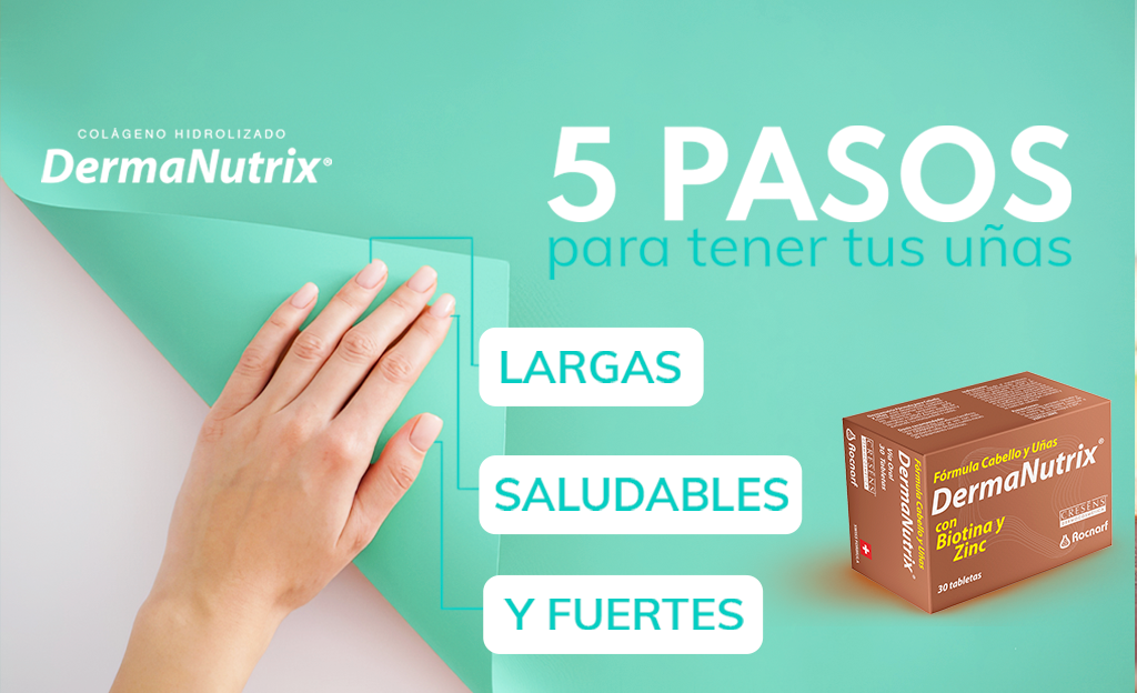 5 pasos para tener uñas largas y saludables