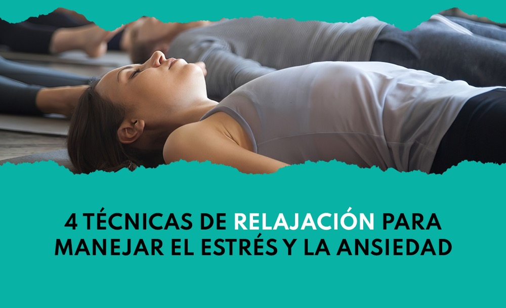 Técnicas de relajación: Mujer meditando